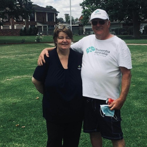 Johnny Painter interviews Mick Simpson on his Dementia Walk with Di Hunter
